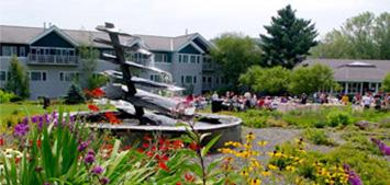 Stowe Vermont Wedding Fountain