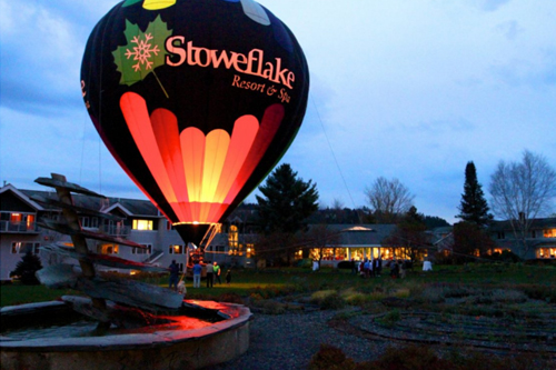 Stoweflake Resort & Spa Balloon Festival