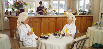 Stowe Vermont Wedding Spa Parties